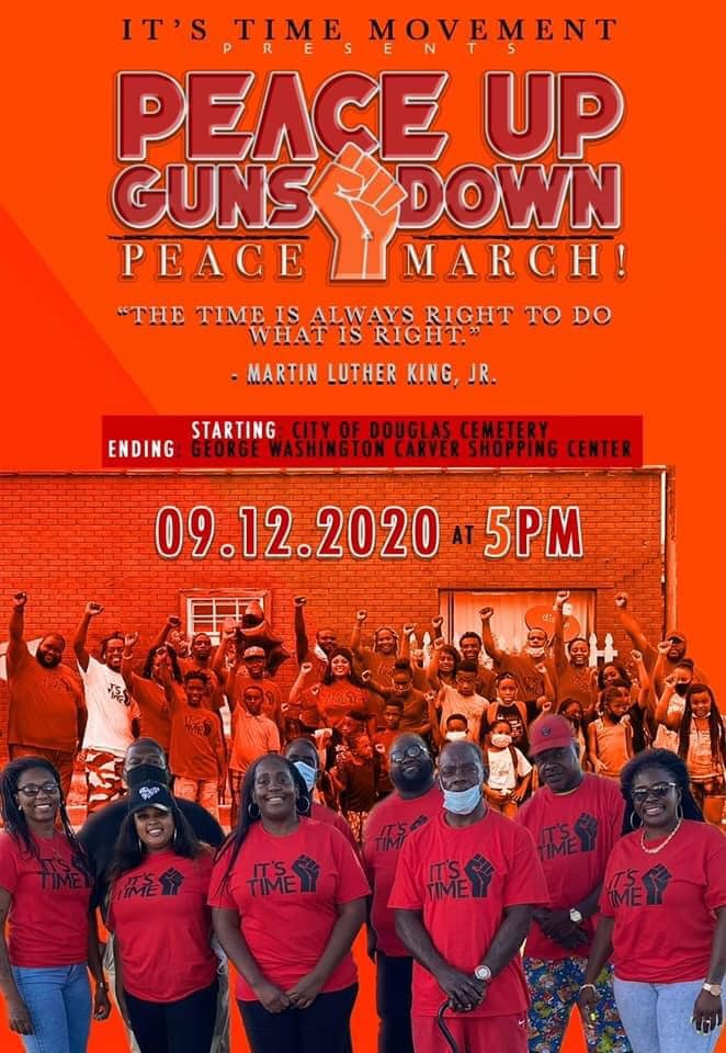 Peace Up, Guns Down / Peace March